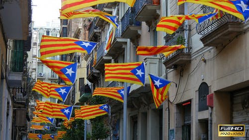 Pro Independence Catalonian Flagstaff