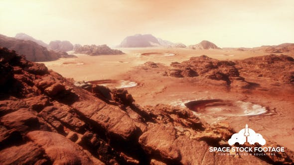 Thumbnail for Martian Landscape Two