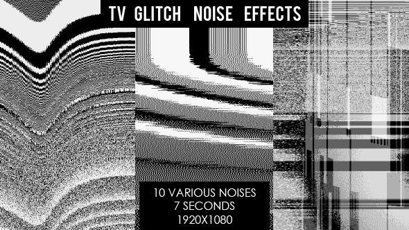 Thumbnail for TV Glitch Noise Interference Effects