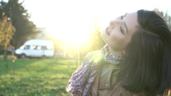 Thumbnail for Beautiful Portrait Of a Carefree Girl