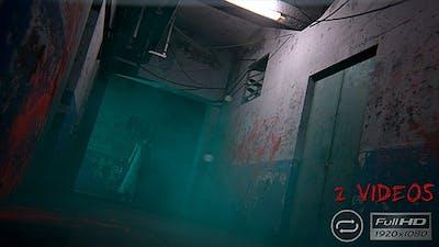 Halloween Horror Corridor - 2 Pack