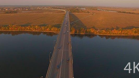 Thumbnail for Modern Automobile Bridge Across the River