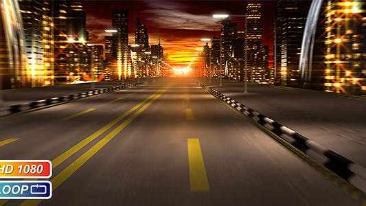 Cover Image for Night City Road