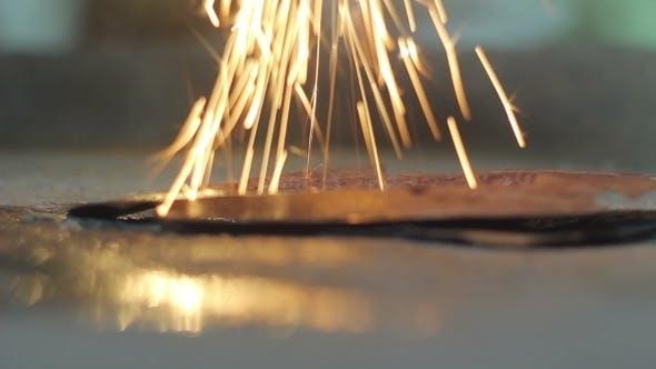 Thumbnail for Work Welding Spark Fire
