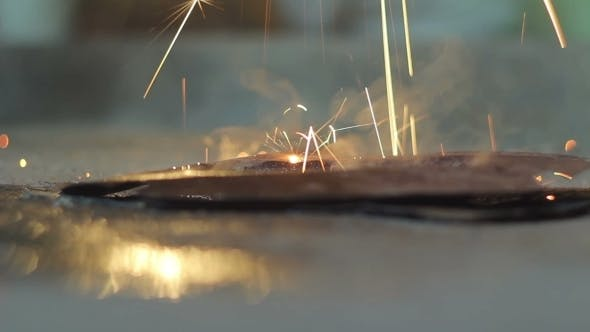 Thumbnail for Work Welding, Spark Fire