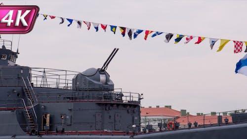 Turret Gun Kriegsschiff