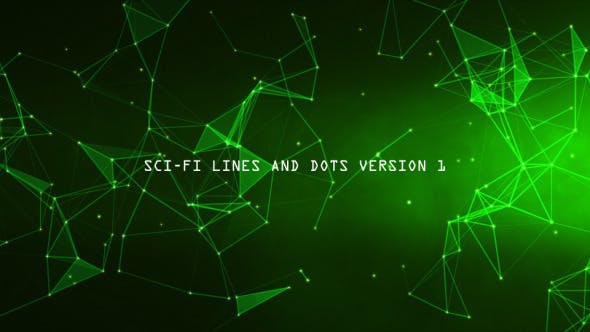 Thumbnail for Sci-Fi Lines and Dots Version 1