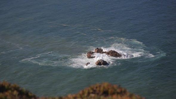 Thumbnail for Close Up Of Rocks At At Cabo Da Roca Portugal