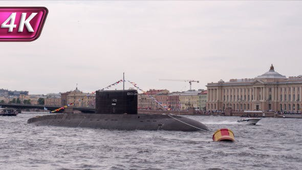 The Submarine in the Center of Town