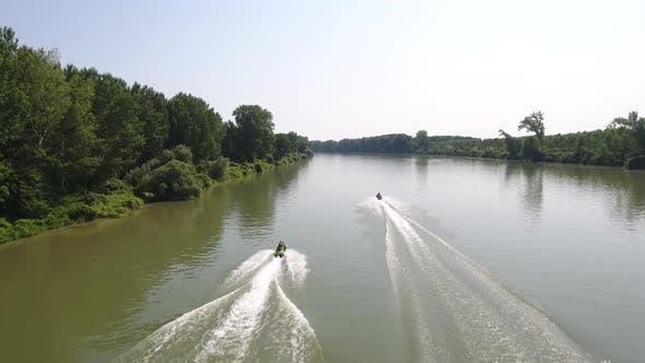 Summer Fun On A River