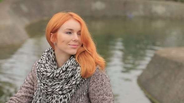 Thumbnail for Young Woman With Red Hair