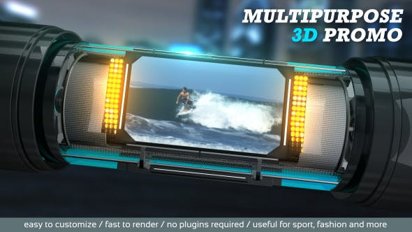 Thumbnail for Multipurpose 3D Promo