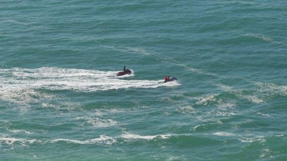 Thumbnail for Two Watercraft Floating In Atlantic Ocean