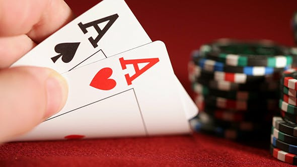 Thumbnail for Stack Of Chips And Two Aces