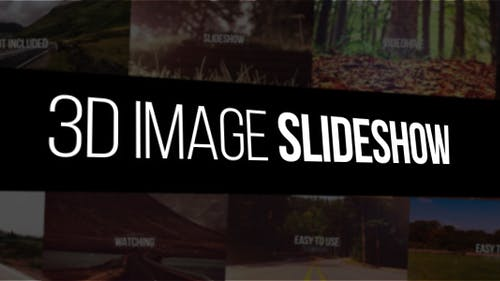 3D Image Slideshow