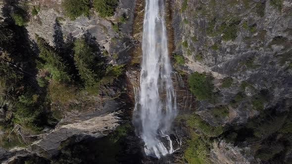 Top View of Fallbachfall Waterfall
