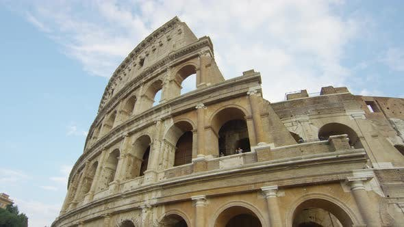 Thumbnail for The Colosseum ruined arches in Rome