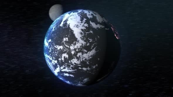 Planète Terre & Lune