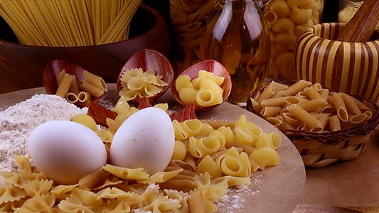 Thumbnail for Eggs Pasta and Ingredients 3