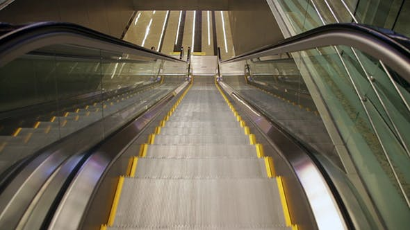 Thumbnail for Escalators In The International Airport