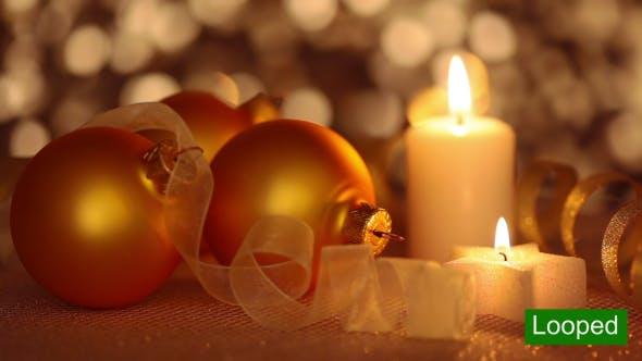 Thumbnail for Still Life of Christmas Ornaments