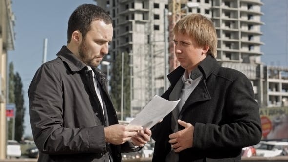 Thumbnail for Contractor And Investor Discussing Housing Project