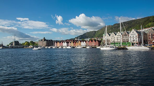 Thumbnail for Port Of Old Hanseatic In Bergen