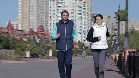 Thumbnail for Fit Fitness Exercise People, Healthy Runners
