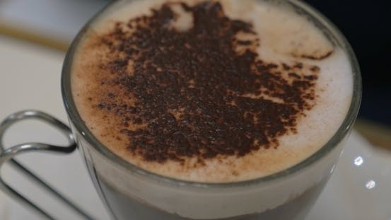 Thumbnail for Taking Tasty Foam From Coffee