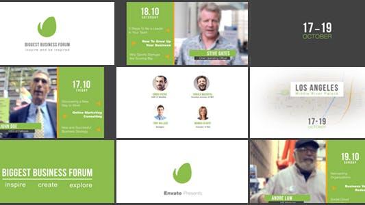Business Forum   Event Promo
