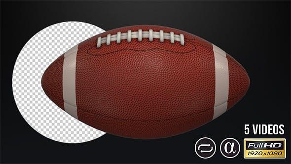 Thumbnail for American Football Ball - 5 Pack