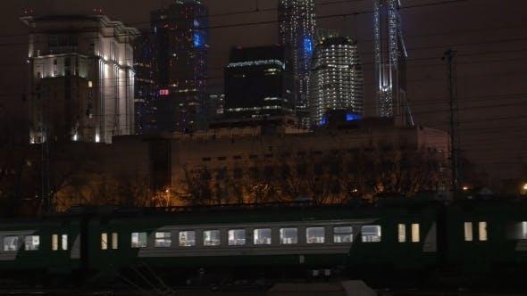 Thumbnail for Evening Trains In Modern Metropolis