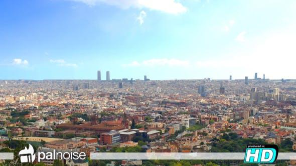 Thumbnail for Barcelona Panoramic Urban City