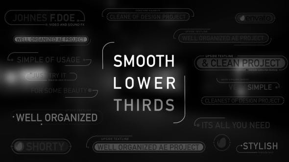 Thumbnail for Smooth Lower Thirds