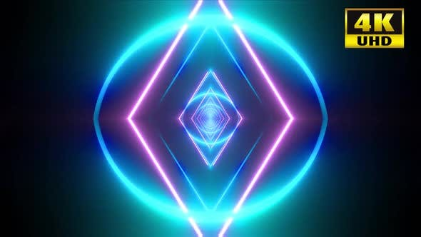 Thumbnail for 7 Triangular Shape Vj Loop Pack