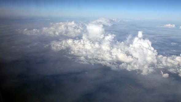 Thumbnail for Blauer Himmel und weiße Wolke