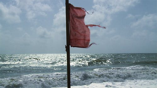 Beach Warning Flag