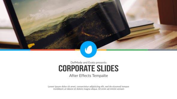 Thumbnail for Corporate Slides