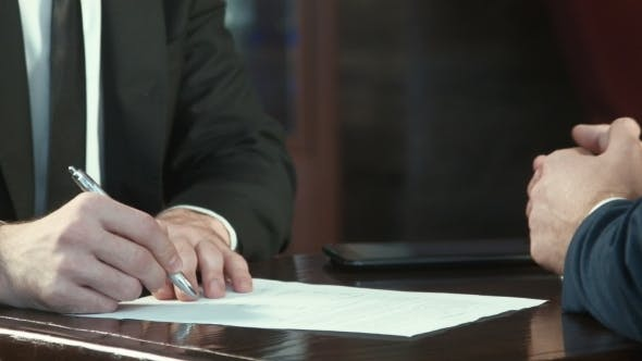 Thumbnail for Signing Of The Contract