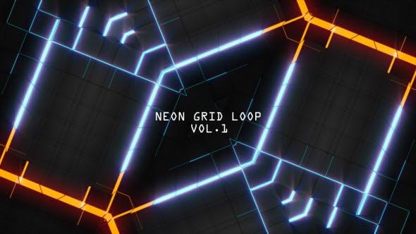 Thumbnail for Neon Grid Loop Vol.1