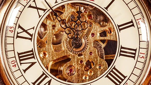 Thumbnail for Antique Clock Dial