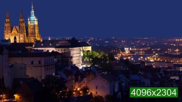 Thumbnail for Dusk over Prague