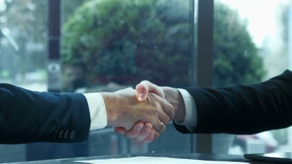 Cover Image for Handshake Of Two Businessmen