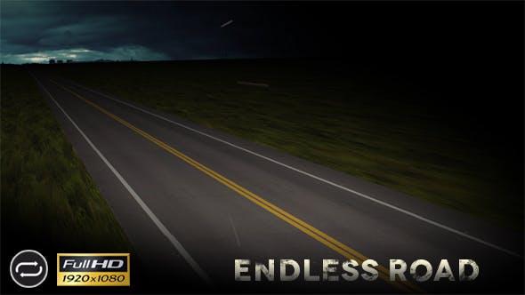 Thumbnail for Endless Night Road - Diagonal
