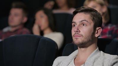 A Fan Movie Male Watching a Movie Story