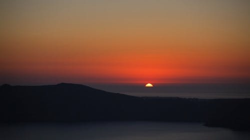 Colorful Sunset, Santorini