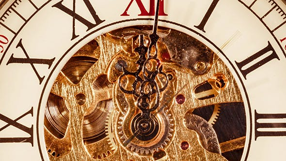 Cover Image for Antique Clock Dial