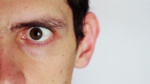 Human Emotions The Man's Face Depicting Men