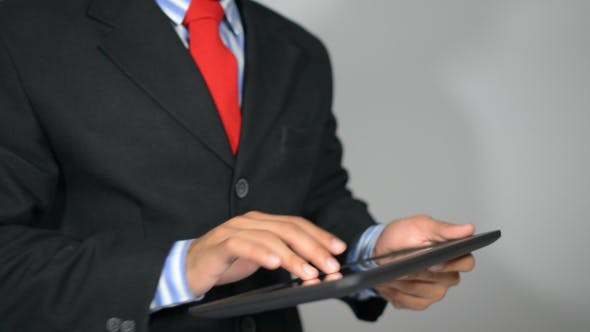 Cover Image for Typing Urgent Business Email