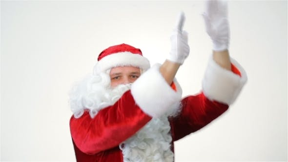 Thumbnail for Christmas Fun Santa Claus Dancing